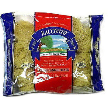 Racconto Fideo Angel Hair Pasta, 12 oz (Pack of 16)