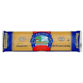 Racconto Spaghettini, 16 oz (Pack of 20)