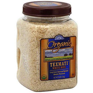 Rice Select Texmati Organic White Rice, 32 oz (Pack of 4)