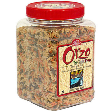 Rice Select Tri-Color Orzo Pasta, 26.5 oz (Pack of 4)