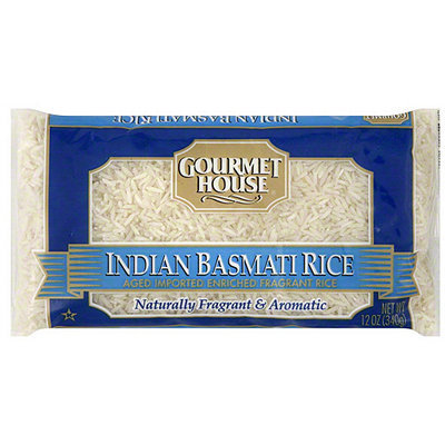 Gourmet House Indian Basmati Rice, 12 oz (Pack of 12)