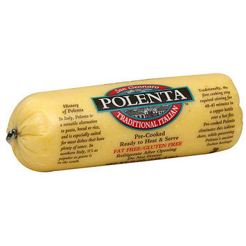 San Gennaro Traditional Italian Polenta, 24 oz (Pack of 12)