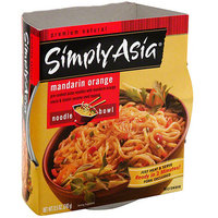 Simply Asia Mandarin Orange Noodle Bowl, 8.5 oz (Pack of 6)