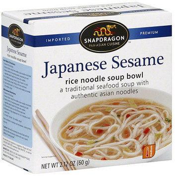Snapdragon Japanese Sesame Rice Noodle Soup, 2.1 oz (Pack of 6)