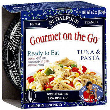 St. Dalfour Gourmet On The Go Tuna & Pasta, 6.2 oz (Pack of 6)