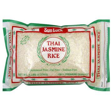Sun Luck Thai Jasmine Rice, 5 lb (Pack of 6)