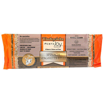 Tinkyada Brown Rice Spinach Spaghetti Pasta, 12 oz (Pack of 12)