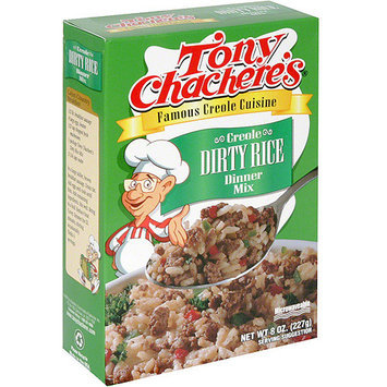 Tony Chachere's Famous Creole Cuisine Creole Dirty Rice Dinner Mix, 8 oz (Pack of 12)