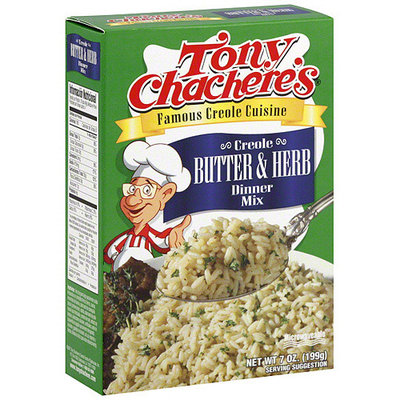 Tony Chachere's Creole Butter & Herb Rice Dinner Mix, 7 oz (Pack of 12)