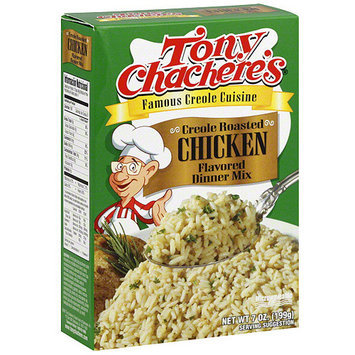 Tony Chachere's Creole Roasted Chicken Rice Dinner Mix, 7 oz (Pack of 12)