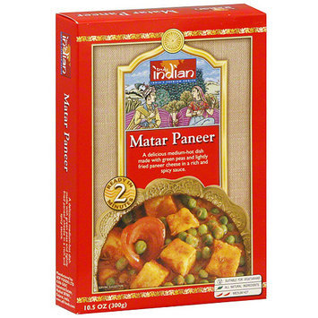 Truly Indian Matar Paneer, 10.5 oz (Pack of 6)