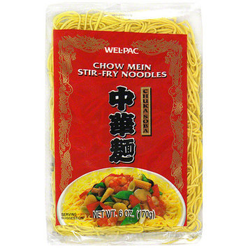 Wel-Pac Chow Mein Stir-Fry Noodles, 6 oz (Pack of 12)