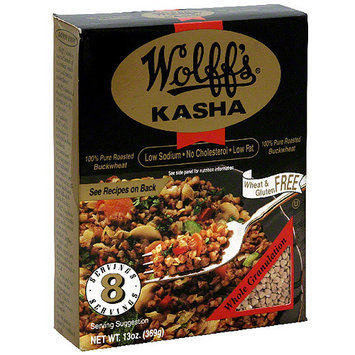 Wolff's Whole Granulation Kasha, 13 oz (Pack of 6)