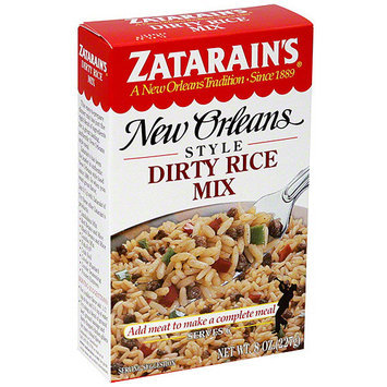 Zatarain's New Orleans Style Original Dirty Rice Mix, 8 oz (Pack of 12)
