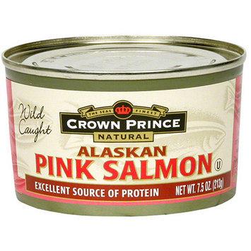 Crown Prince Low Sodium Alaskan Pink Salmon, 7.5 oz (Pack of 12)