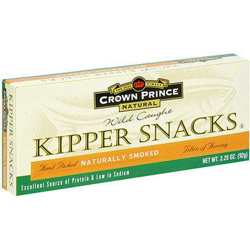 Crown Prince Kipper Fish Snack, 3.25 oz (Pack of 18)