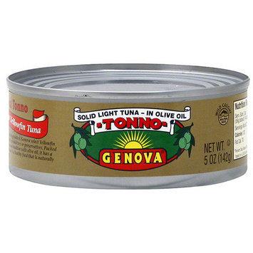 Genova Select Yellowfin Tuna In Olive Oil, 5 oz (Pack of 24)