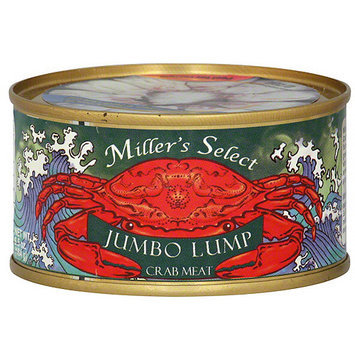 Millers Miller's Select Jumbo Lump Crab Meat, 6.5 oz (Pack of 12)