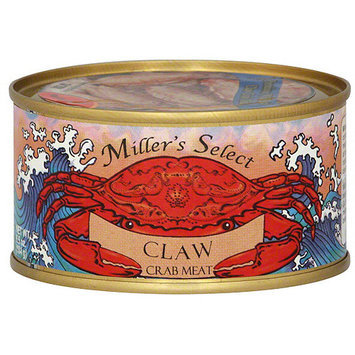 Millers Miller's Select Claw Crab Meat, 6.5 oz (Pack of 12)