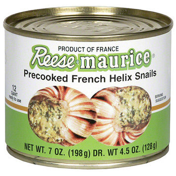 Maitre Jacques Precooked Helix Snails Escargot, 7 oz (Pack of 6)