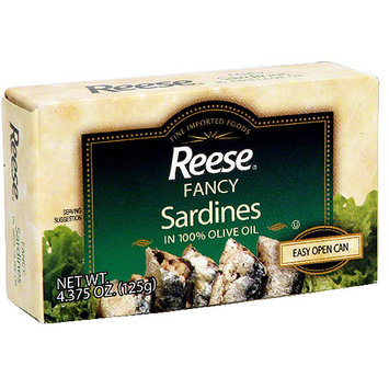 Reese Fancy Sardines, 4.375 oz (Pack of 10)
