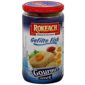 Rokeach Gourmet Sweet Gefilte Fish, 24 oz (Pack of 12)