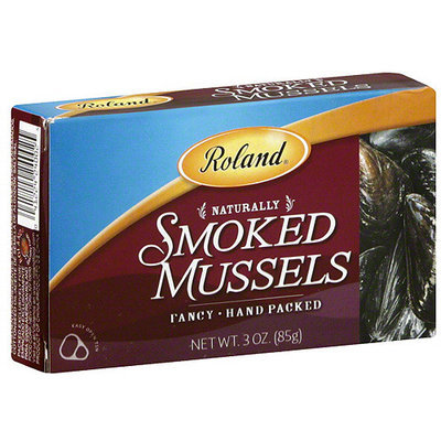 Roland Naturally Smoked Mussels, 3 oz (Pack of 10)