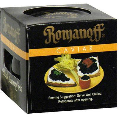 Romanoff Black Lumpfish Caviar, 2 oz (Pack of 6)