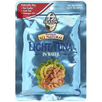 Seasons Season Light Tuna In Water, 3 oz (Pack of 12)