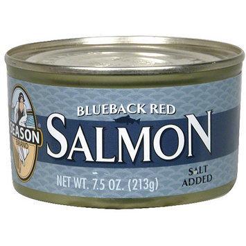 Seasons Season Blueback Salmon, 7.5 oz (Pack of 6)