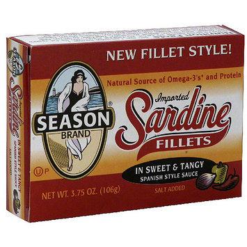 Seasons Season Sardine Fillets In Spanish Style Sauce, 3.75 oz (Pack of 12)