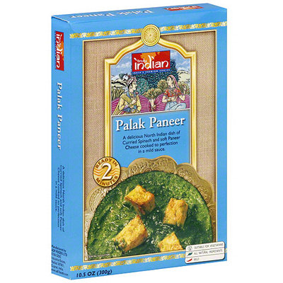 Truly Indian Mild Palak Paneer, 10.5 oz (Pack of 6)
