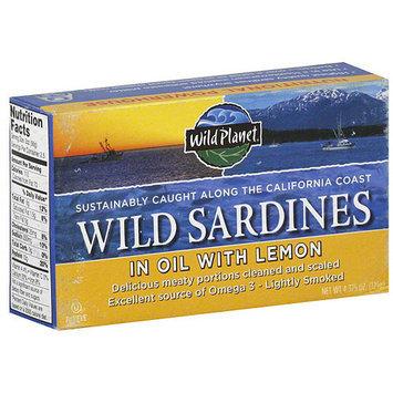 Wild Planet Wild Sardines, 4.375 oz (Pack of 12)