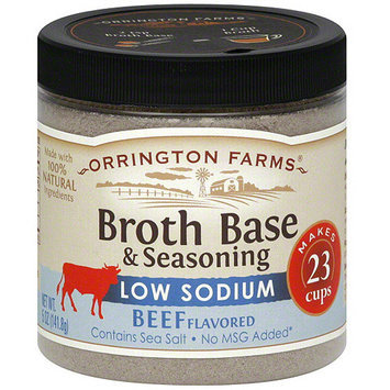 Orrington Farms Beef Flavored Broth Base & Seasoning, 5 oz (Pack of 6)