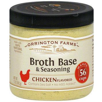 Orrington Farms Chicken Flavored Broth Base & Seasoning, 12 oz (Pack of 6)