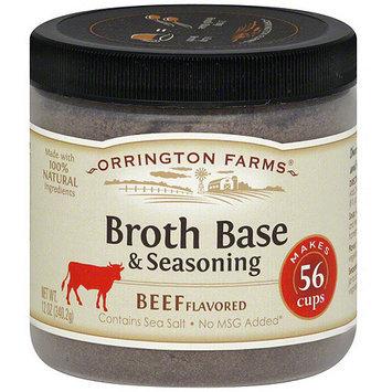 Orrington Farms Beef Flavored Broth Base & Seasoning, 12 oz (Pack of 6)