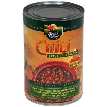 Health Valley Spicy Tomato Chili, 15 oz (Pack of 12)