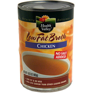 Health Valley Chicken Broth, 15 oz (Pack of 12)