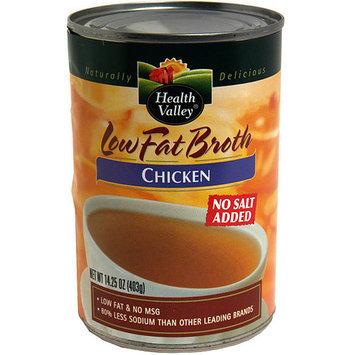Health Valley Chicken Broth, 15 oz (Pack of 12)