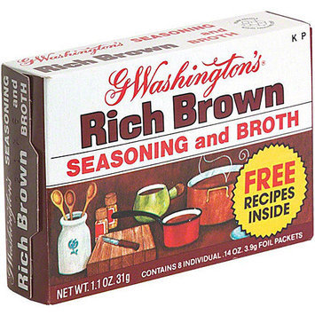 George Washington G. Washington's Brown Seasoning And Broth, 1.1 oz (Pack of 24)