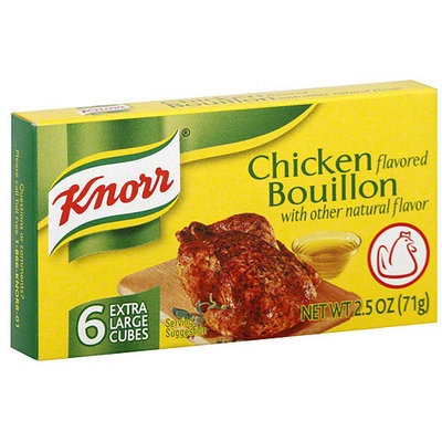 Knorr Chicken Bouillon, 6ct (Pack of 24)