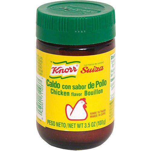 Knorr Hispanic Chicken Flavor Bouillon, 3.5 oz (Pack of 24)
