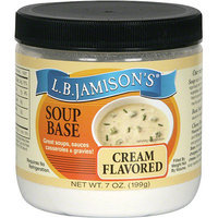 Lb Jamison L.B. Jamison's Cream Flavored Soup Base, 7 oz (Pack of 6)
