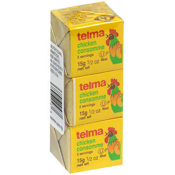 Telma Chicken Consomme Soup, 0.5 oz (Pack of 12)