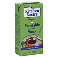 Kitchen Basics Vegetable Cooking Stock, 32 oz (Pack of 12)