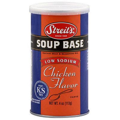 Streits Streit's Chicken Flavor Low Sodium Soup Base, 4 oz (Pack of 6)
