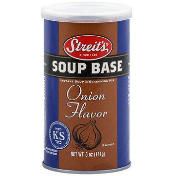 Streits Streit's Onion Flavor Soup Base, 5 oz (Pack of 6)