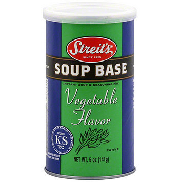 Streits Streit's Vegetable Flavor Soup Base, 5 oz (Pack of 6)