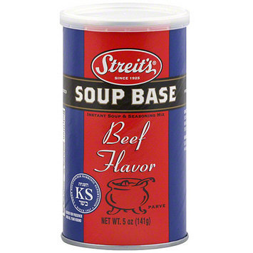 Streits Streit's Beef Flavor Soup Base, 5 oz (Pack of 6)