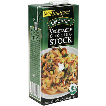 Imagine Foods Organic Vegetable Cooking Stock, 32 fl oz (Pack of 12)